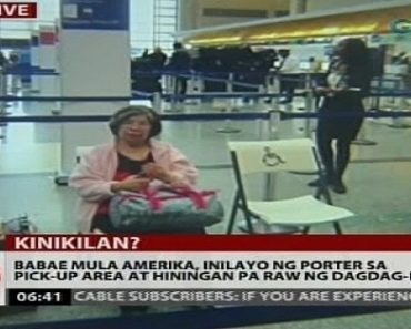 NAIA Porter Victimizes 74-Year-Old Wheelchair-bound Grandma