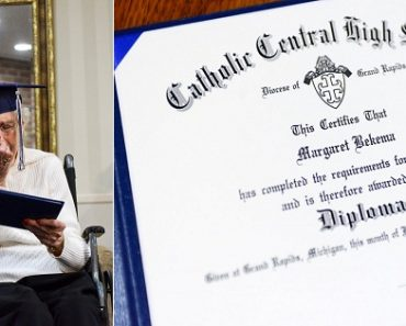 Grandma, 97, Earns High School Diploma Decades after Being Forced to Drop Out