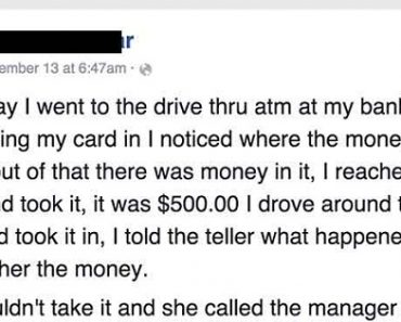 Man Who Found Old Woman's $500 at ATM Raised Another $600 for Her!