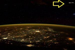 "Alien Hunters ""Find"" UFO in Astronaut's Tweet from the International Space Station"