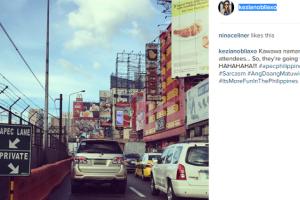 """Hilarious Photo: APEC Delegates """"Forced to Walk"""" via Narrow Lane?"""