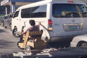 Photo of Disabled Parking Attendant Goes Viral