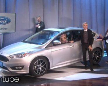 Ellen DeGeneres Surprises A Fan With Brand New Car