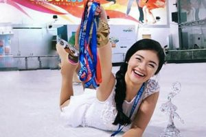 Talented Filipina Figure Skater Bags 4 Gold Medals In Indonesia