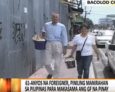 Foreigner Gives Up Life in Paris, Sells Turon and Lumpia with Filipina GF