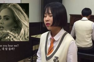 """Korean Girl's Cover of Adele's """"Hello"""" Could Be the Best One So Far"""