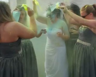 Frustrated Bride Ruins Wedding Dress After Fiance Dumps Her