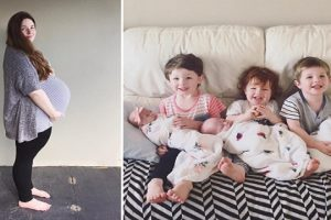 Family with Three Sons Wanted a Daughter…And Got Triplets!