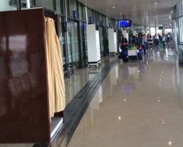 Mysterious Curtained Booths Spotted At NAIA Departure Areas