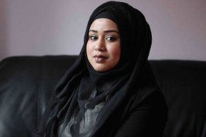 Strangers in A Train Stand Against Racial Abuse of Muslim Woman