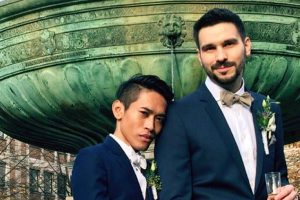 Thai-German Gay Couple Humiliated on Social Media Have Finally Tied the Knot