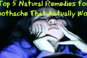 Top 5 Natural Remedies for Toothache That Actually Work