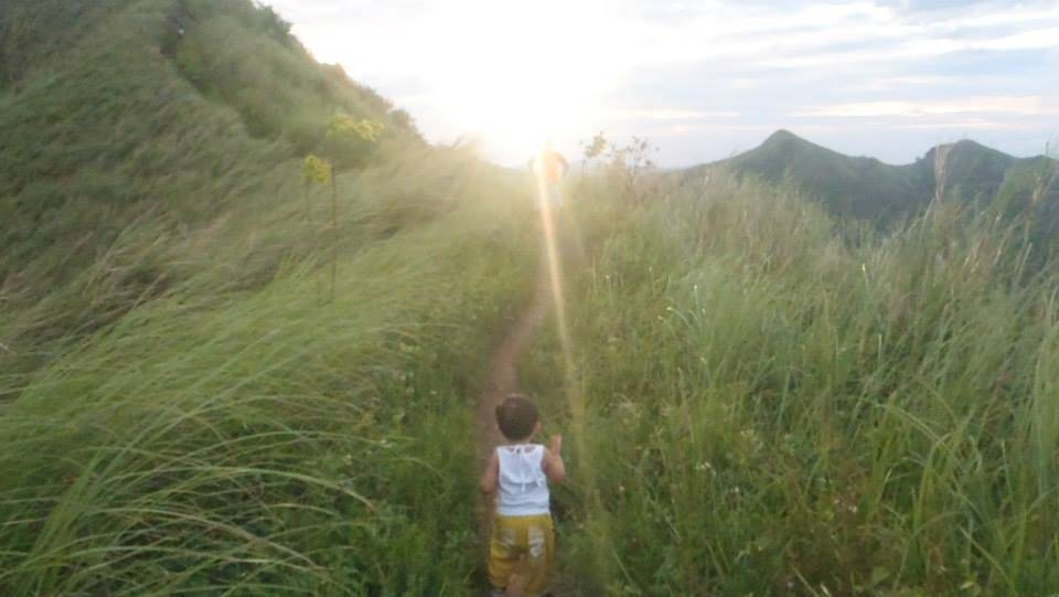 Wyatt at Mt. Batulao Photo credit: When in Manila