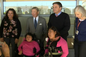 Formerly Conjoined Twins Reunite with the Medical Staff that Separated Them