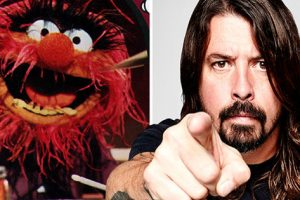 Dave Grohl vs Animal In An Epic Drum Battle