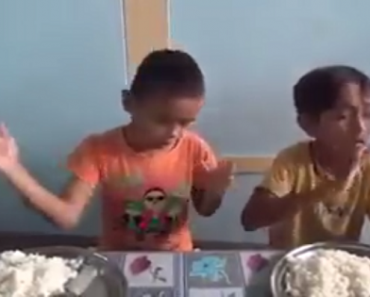 Touching Video: Deaf Kids Use Sign Language to Pray Before Eating