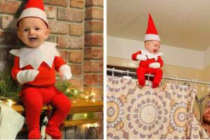 This Cute Naughty Elf Probably Won't Make It To Santa's Nice List