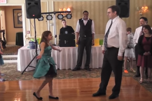 This Funky Daddy-Daughter Dance Will Melt Your Heart