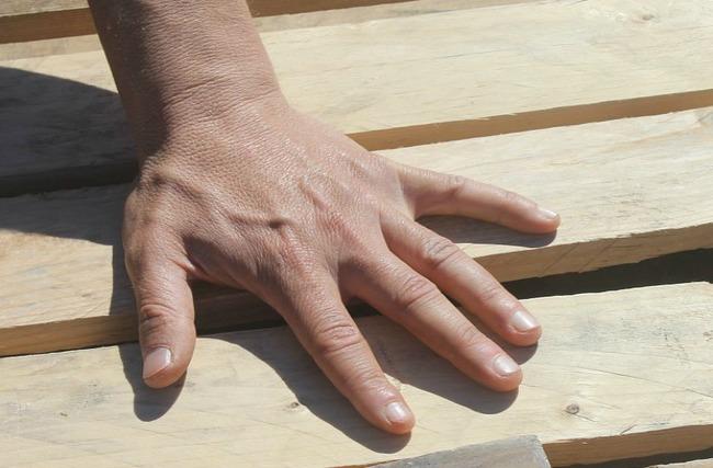 Photo of healthy nails