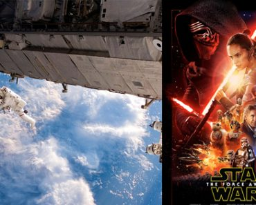 ISS Astronauts To Watch Star Wars In Outer Space