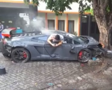 VIDEO: Lamborghini Driver Caught Texting Moments After Accidentally Killing a Pedestrian