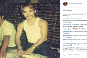Throwback Photo: Manny Pacquiao as a Baker
