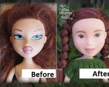 Mom Recreates Bratz Dolls by Removing Their Make-up to Look More Realistic