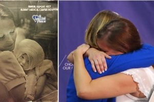 After 38 Years, Badly Burned Baby Reunites with the Nurse Who Cared for Her