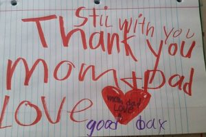 Mother Finds Heartbreaking Note While Picking Out Burial Clothes for 6-Year-Old Son