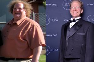 Amazing Transformation: Extremely Overweight Guy Lost 300lbs with Yoga