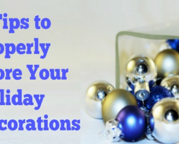 7 Tips to Properly Store Your Holiday Decorations
