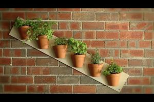 How to Make Beautiful Vertical Garden in a Few Simple Steps