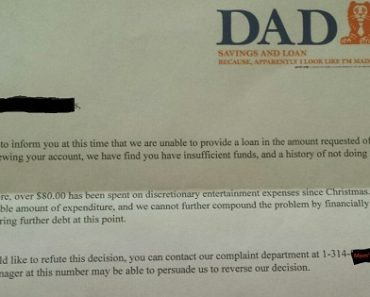 Dad Writes Brilliant Response to 6-Year-Old Son's Request for Advance in Allowance