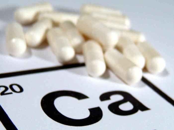 is calcium harmful