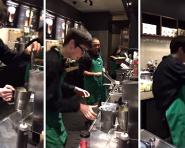 Man with Autism Becomes a Dancing Barista at Starbucks