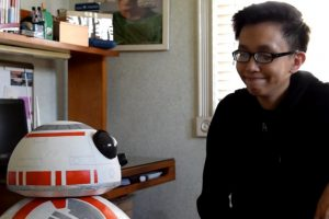 Teenage Pinoy Recreates Life-Size, Fully Functional BB-8 Using Household Items