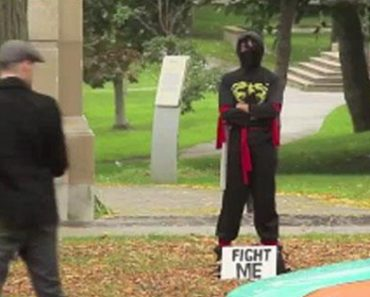 This Fight-A-Ninja Prank Is Plainly Hilarious