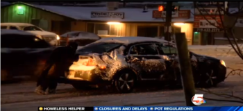 Community Gives Back to Kind Homeless Guy Who Helped Cars Stuck in Snow