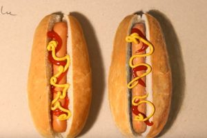 This Hot Dog Drawing Is So Good It Looks Very Real
