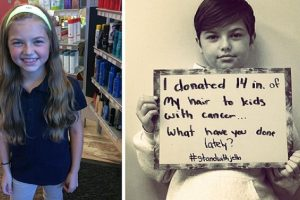 Girl Bullied for Pixie Haircut Reveals She Donated Hair to Kids with Cancer