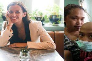 British Lawyer Plans to Go Bald to Raise Funds for Filipina Helper's Cancer-stricken Son