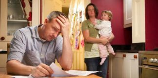 parents debts affects children