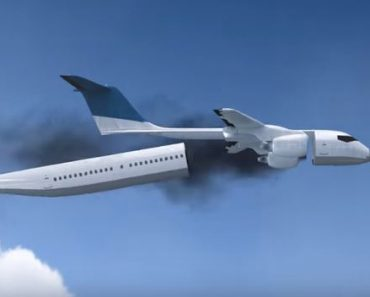 Russian Inventor Unveils Concept that Will Save Thousands of Lives in Plane Crash