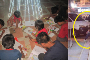 Young Teacher Praised for Tutoring Street Kids for Free!