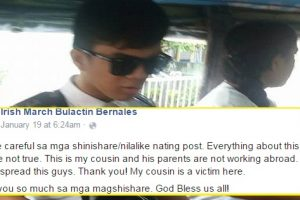 Did Girl Just Make Up Story about Student Who Allegedly Stole P45k from His Parents?