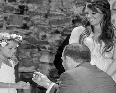 Groom Makes Vows for This Girl after Marrying Her Mom