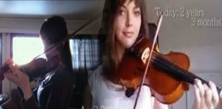 self-taught violin player