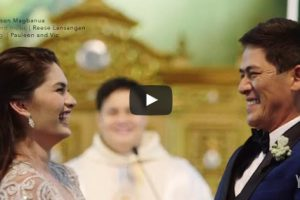 WATCH: Vic Sotto and Pauleen Luna's Official Wedding SDE
