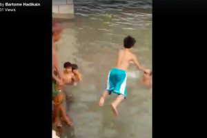 WATCH: 12-year-old Boy Drowns After Friends Pressure Him to Jump into River