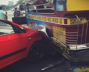 Motorist Shares Surprising Encounter with Jeepney Driver after Getting Involved in an Accident